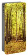 Fine Wine Cafe Golden Woods Portable Battery Charger