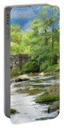 Fingle Bridge - P4a16007 Portable Battery Charger