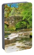 Fingle Bridge - P4a16013 Portable Battery Charger