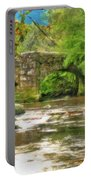 Fingle Bridge - P4a16013 Portable Battery Charger