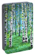 Finland Birches  Portable Battery Charger