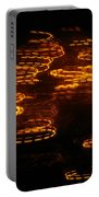 Fire Abstract  Portable Battery Charger