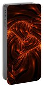 Fire Abstraction Portable Battery Charger