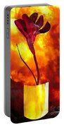 Fire And Flower Portable Battery Charger