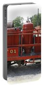 Fire Engine Of Older Years  Portable Battery Charger