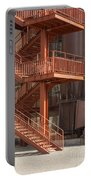 Fire Escape And Platforms Portable Battery Charger