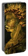 Fire Portable Battery Charger by Giuseppe Arcimboldo