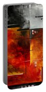 Fire Hazard Original Madart Painting Portable Battery Charger