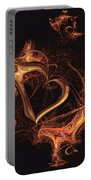 Fire Heart Portable Battery Charger