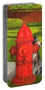 Fire Hydrant Dog Portable Battery Charger