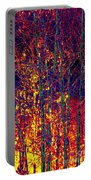Fire In The Trees Portable Battery Charger