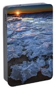 Fire Island Winter Portable Battery Charger