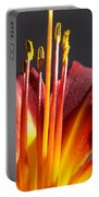 Fire Lily Portable Battery Charger