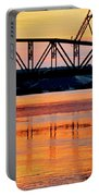 Fire On The Water Portable Battery Charger