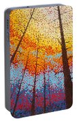 Fire  Over Montana 2017 Portable Battery Charger