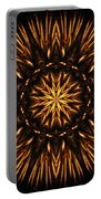Fire Spikes Mandala Portable Battery Charger