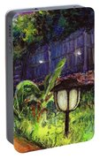 Fireflies In Woodfin Portable Battery Charger