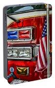 Fireman - Fire Truck Portable Battery Charger