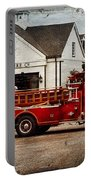 Fireman - Newark Fire Company Portable Battery Charger