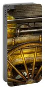 Fireman - Piano Engine - 1855  Portable Battery Charger by Mike Savad