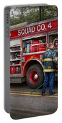 Firemen - The Modern Fire Truck Portable Battery Charger