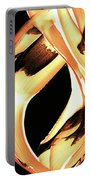 Firewater 1 - Buy Orange Fire Art Prints Portable Battery Charger