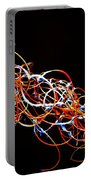 Fireweed Abstract  Portable Battery Charger