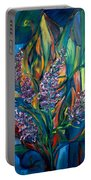 Fireweed Bouquet Portable Battery Charger