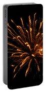Firework Golden Lights Portable Battery Charger
