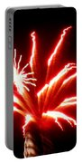 Firework Hibiscus Portable Battery Charger