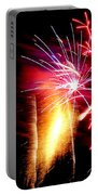 Fireworks Abstract #8 Portable Battery Charger