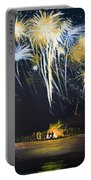 Fireworks Bonfire On The West Bar Portable Battery Charger