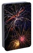 Fireworks Celebration  Portable Battery Charger
