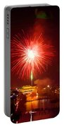 Fireworks In Phoenix Portable Battery Charger