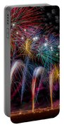 Fireworks Line Portable Battery Charger