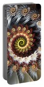 Fireworks Of Isis Portable Battery Charger by Amorina Ashton