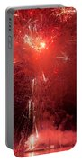 Fireworks Over Humboldt Bay Portable Battery Charger