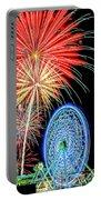 Fireworks-wildwood Nj Boardwalk Portable Battery Charger