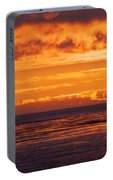 Firey Sunset Sky Portable Battery Charger