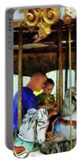 First Carousel Ride Portable Battery Charger