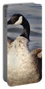 First Day Of Spring Goose Portable Battery Charger