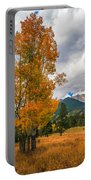 First Fall Colors In Rocky Mountain National Park Portable Battery Charger