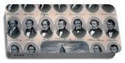 First Hundred Years Of American Presidents Portable Battery Charger