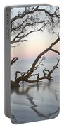 First Light - Hunting Island South Carolina Portable Battery Charger