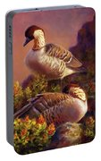 First Light Nene Hawaiian Goose Portable Battery Charger