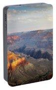First Light Over Grand Canyon, Arizona, Usa Portable Battery Charger