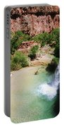 First View Of Havasu Falls Portable Battery Charger