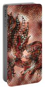Fish In Cinnamon Mosaic 1 Portable Battery Charger