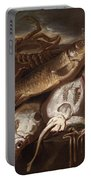 Fish Still Life Portable Battery Charger