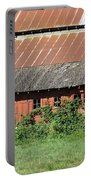 Fisher Road Barn 3 Photograph Portable Battery Charger
